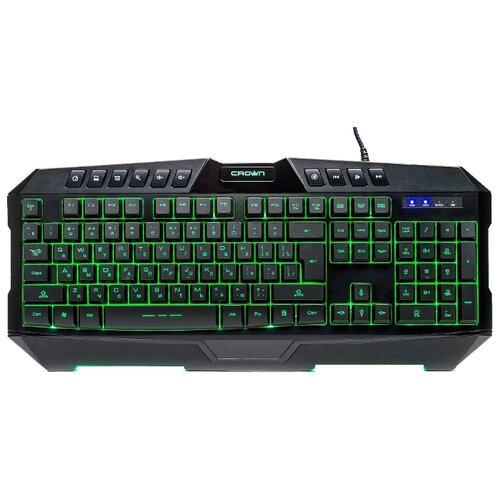 Купить Клавиатура CROWN MICRO CMKG-402 Black USB