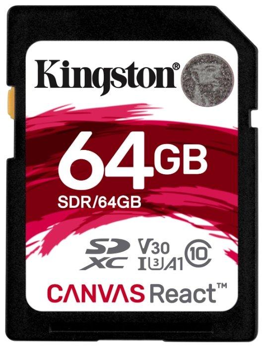 Карта памяти Kingston SDR/64GB