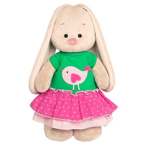 Купить Мягкая игрушка Зайка Ми в толстовке с птичкой 25 см, Мягкие игрушки