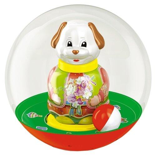 Купить Неваляшка Stellar Собачка в шаре, упаковка коробка (01704) 18 см, Неваляшки