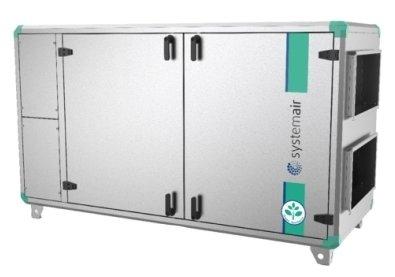 Вентиляционная установка Systemair Topvex SX04 HWL-R AHU-C