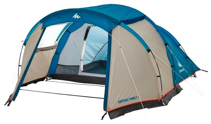 Палатка Quechua Arpenaz 4 — купить по выгодной цене на Яндекс.Маркете