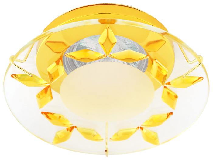 Встраиваемый светильник De Fran FT 857 G, золото / желтый