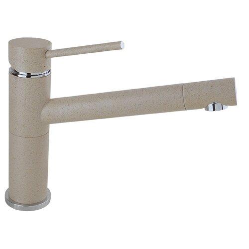 Смеситель для кухни (мойки) Timo 2303F granite однорычажный Sandy смеситель для кухни мойки timo 2303f granite однорычажный jasmine