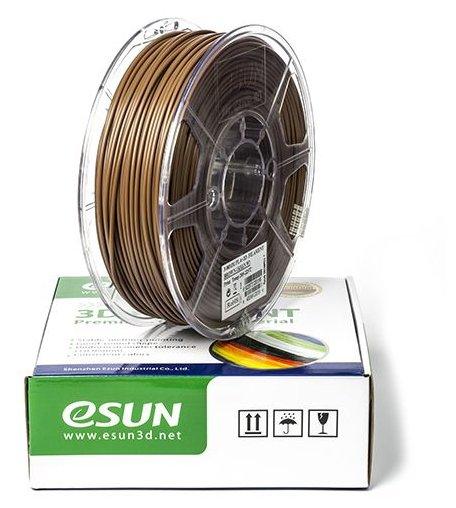 PLA+ пруток ESUN 1.75 мм коричневый