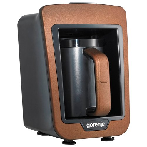 Кофеварка Gorenje ATCM730T медный/черный кофеварка gorenje tcm 330b w белый