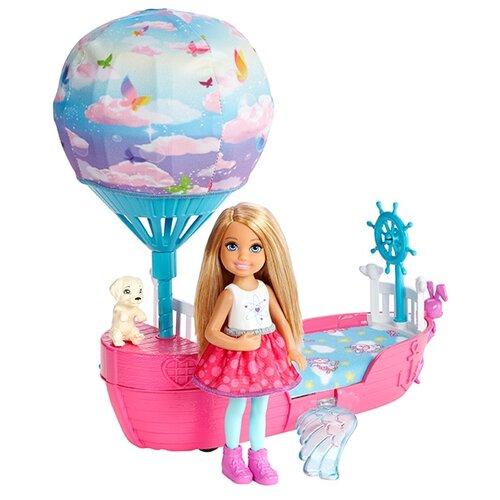 Набор Barbie Волшебная кроватка Челси, DWP59, Куклы и пупсы  - купить со скидкой