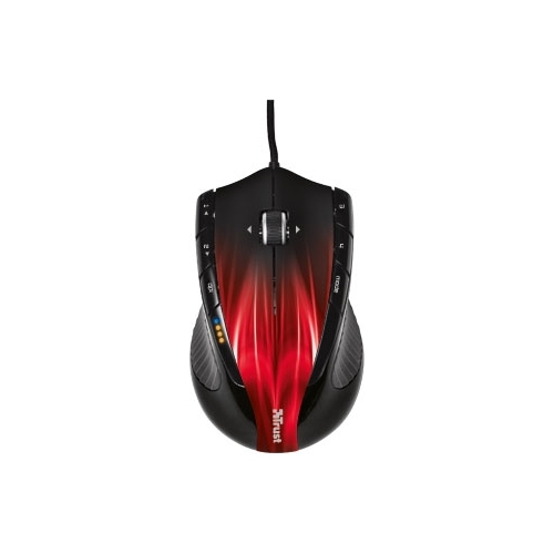 Мышь Trust GXT 32s Gaming Mouse Black-Red USB