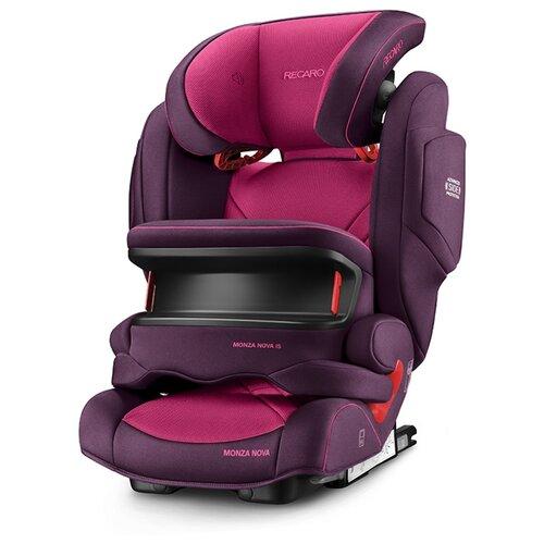 цена на Автокресло группа 1/2/3 (9-36 кг) Recaro Monza Nova IS Seatfix, Power Berry
