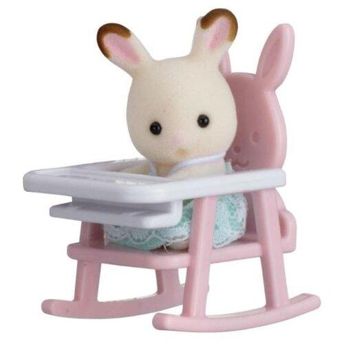 Купить Игровой набор Sylvanian Families Кролик в детском кресле 5197, Игровые наборы и фигурки