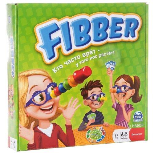 Настольная игра Spin Master Fibber 34545 spin master 6045561 настольная игра обезьянка и кольца