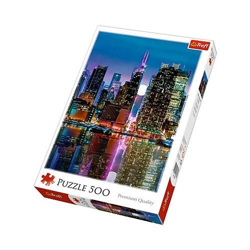 Пазл Trefl Полнолуние на Манхеттене (37261), 500 дет. пазл trefl винтаж 37240 500 дет