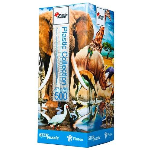 Пазл Step puzzle Plastic Collection Мир животных (98011), 500 дет. пазл step puzzle park