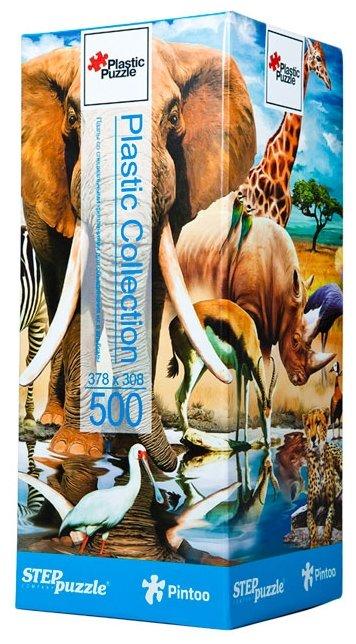 Пазл Step puzzle Plastic Collection Мир животных (98011), 500 дет.