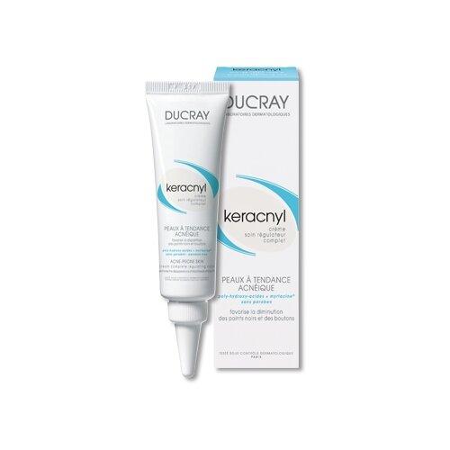 Ducray Keracnyl Регулирующий крем Control creme, 30 мл ducray keracnyl serum