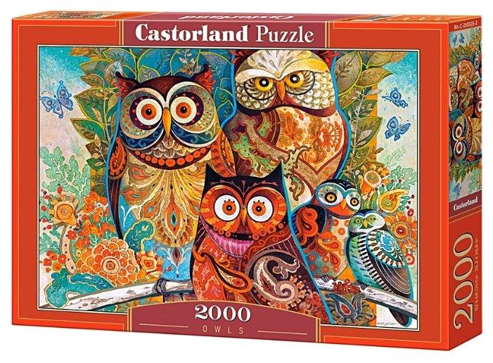Пазл Castorland Owls (C-200535), 2000 дет.