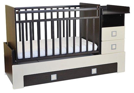 Кроватка СКВ-Компани 83003х (трансформер)