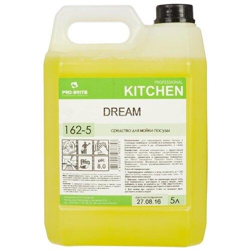 Pro-Brite Средство для мытья посуды Dream 5 л сменный блок средство для мытья посуды в посудомоечных машинах 5 л pro brite mdw a 11 щелочное концентрат 619 5