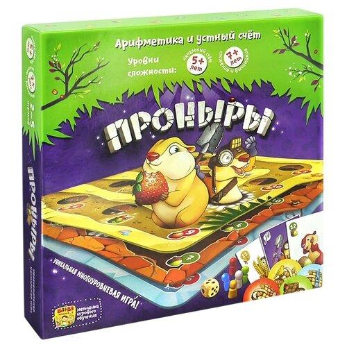 Купить Настольная игра Банда умников Проныры УМ091, Настольные игры
