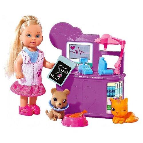 Купить Кукла Simba Еви-ветеринар, 12 см, 5732798, Куклы и пупсы