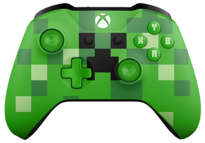 Microsoft Xbox One Wireless Controller Minecraft Series