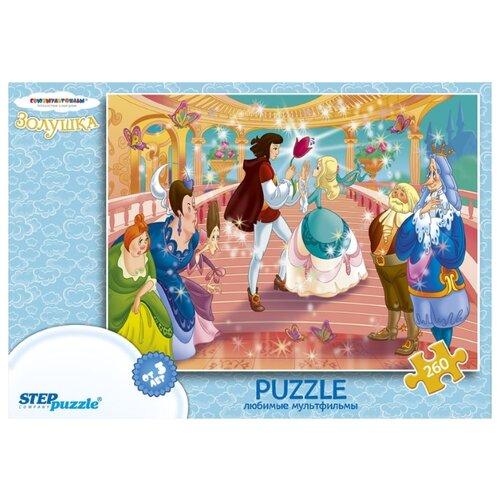 Купить Пазл Step puzzle Союзмультфильм Золушка (74036), 260 дет., Пазлы