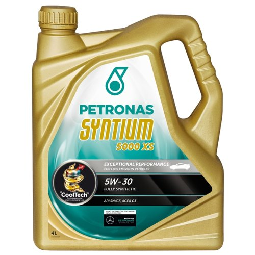 Моторное масло Petronas Syntium 5000 XS 5W30 4 л