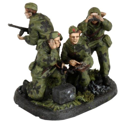 Фото - Сборная модель ZVEZDA Советские разведчики 1941-1943 (6137) 1:72 сборная модель zvezda немецкая пехота в зимней форме 1941 1945 6198 1 72