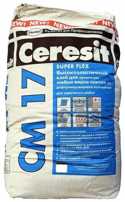 Клей Ceresit СМ 17 Super Flex 25 кг