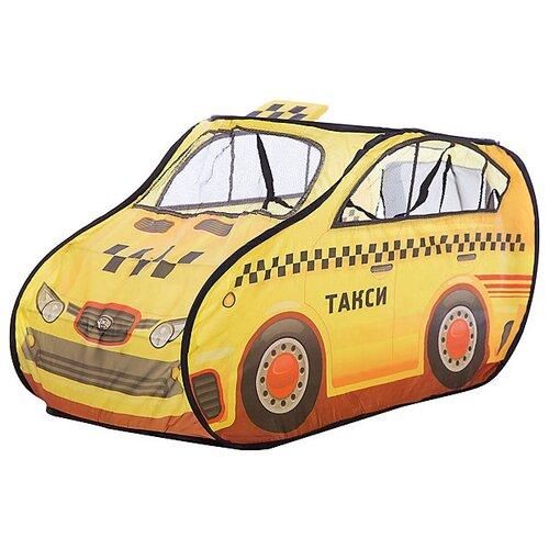 Купить Палатка Yako Такси (палатка-костюм) M6847 желтый, Игровые домики и палатки