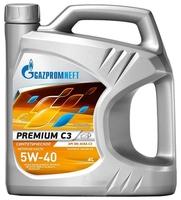 Моторное масло Газпромнефть Premium C3 5W-40 4 л