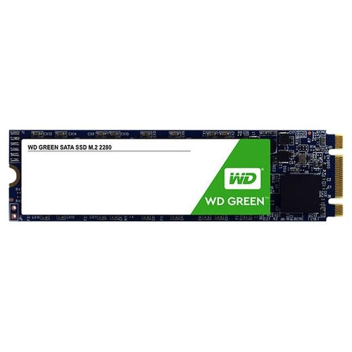 Твердотельный накопитель Western Digital WD GREEN PC SSD 120 GB (WDS120G2G0B) твердотельный накопитель ssd m 2 240gb western digital green read 540mb s write 465mb s sataiii wds240g2g0b