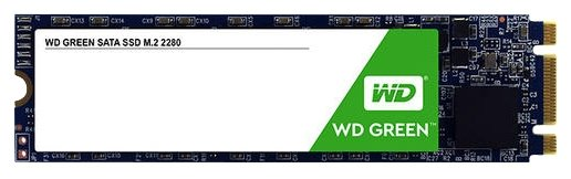Western Digital Твердотельный накопитель Western Digital WD GREEN PC SSD 120 GB (WDS120G2G0B)