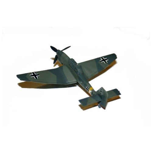 """Сборная модель ZVEZDA Немецкий пикирующий бомбардировщик Ju-87 B2 """"Stuka"""" (6123) 1:144"""