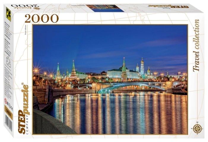 Пазл Step puzzle Москва. Набережная (84024), 2000 дет.