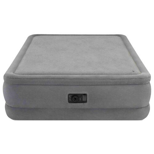 Надувная кровать Intex Foam Top Airbed (64470) серый