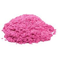 Кинетический песок Космический песок базовый розовый 1 кг пластиковый контейнер