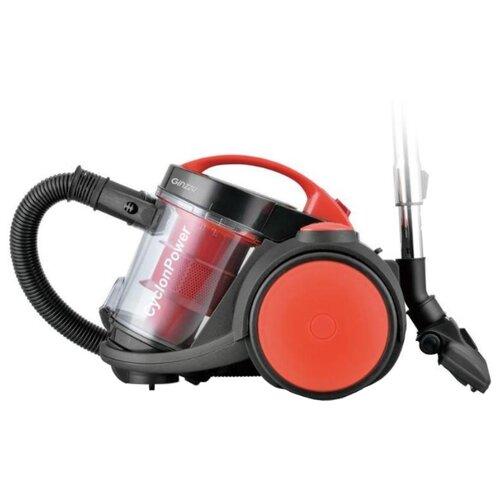 Пылесос Ginzzu VS435 черный/красный