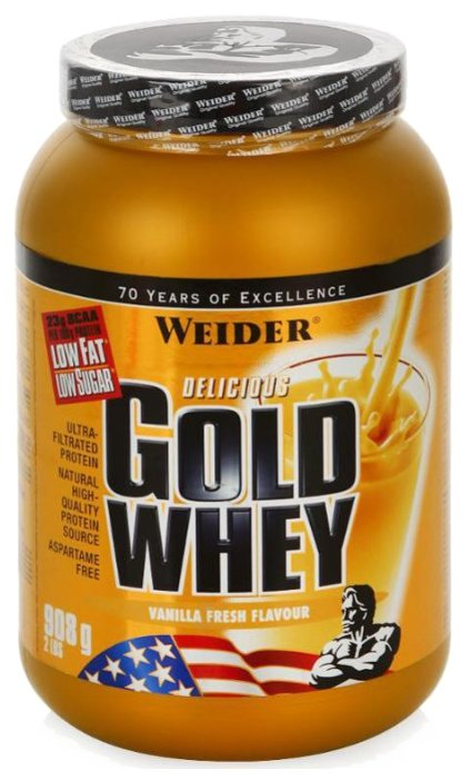 Протеин Weider Gold Whey (908 г)