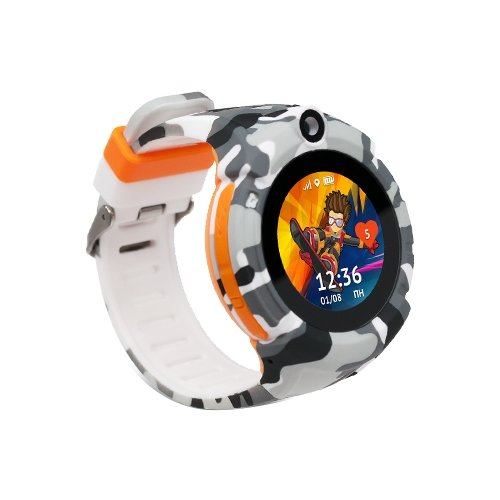 Часы Кнопка жизни Sport камуфляж