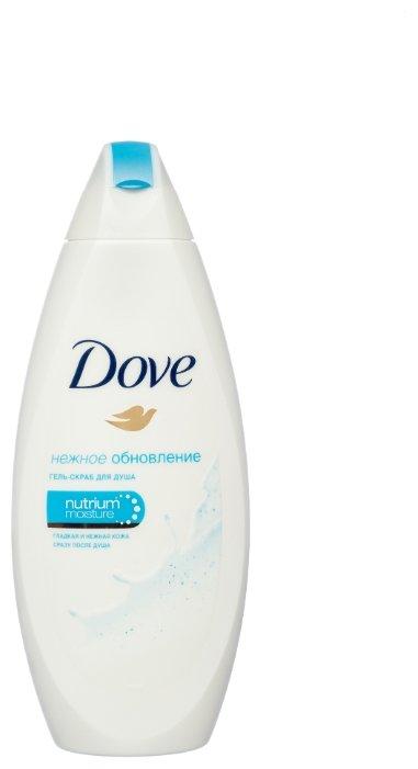 Гель-скраб для душа Dove Нежное обновление