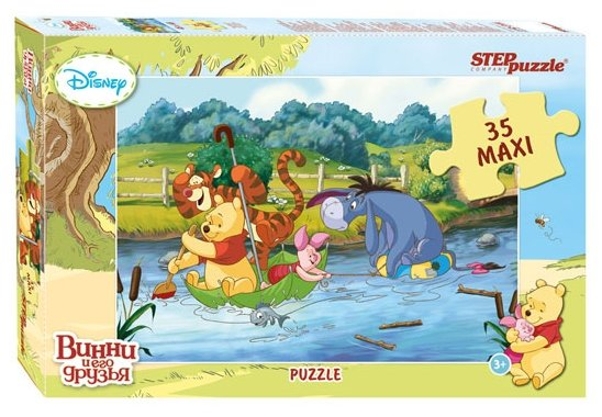 Пазл Step puzzle Disney Медвежонок Винни (91209), 35 дет.