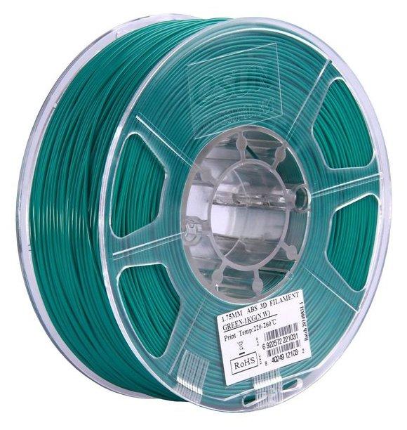 ABS пруток ESUN 1.75 мм зеленый
