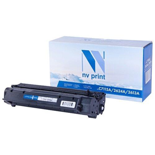 Фото - Картридж NV Print C7115A/Q2624A/Q2613A для HP, совместимый картридж nv print cf380x для hp
