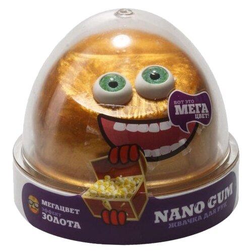 Купить Жвачка для рук NanoGum эффект золота 50 гр (NGCG50), Игрушки-антистресс