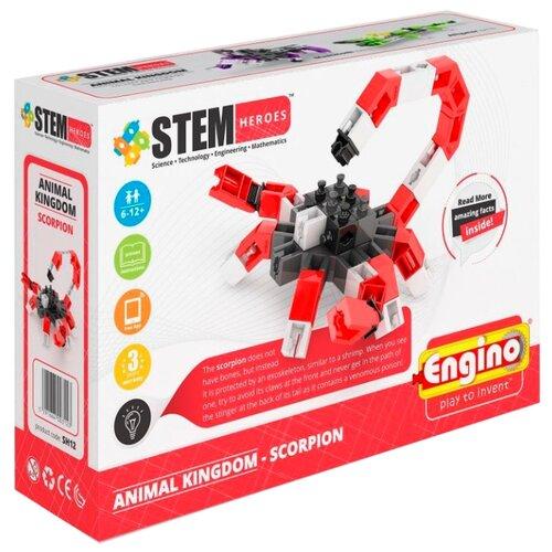 Купить Конструктор ENGINO STEM Heroes SH12 Мир животных - Скорпион, Конструкторы