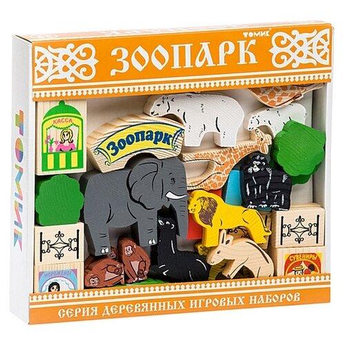 Купить Кубики Томик Зоопарк 7678-5, Детские кубики