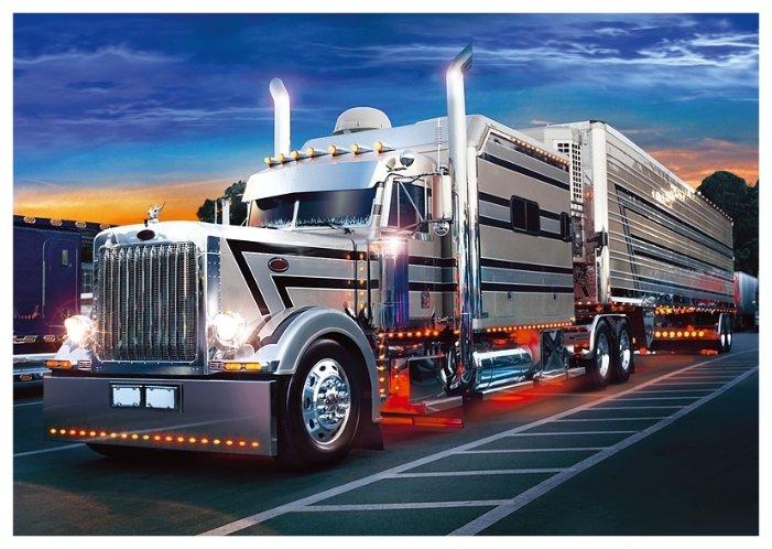 Пазл Trefl Серебряный грузовик (37121), 500 дет.
