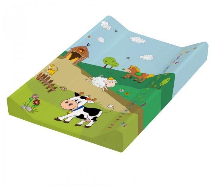 Пеленальная доска OKT (Keeeper) с ростомером, 70 x 50 см