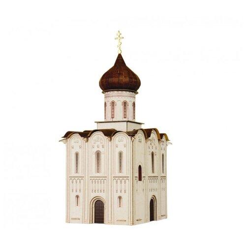 Сборная модель Умная Бумага Церковь Покрова на Нерли (315) 1:87 сборная модель умная бумага двухосная цистерна 25 м3 нефть черная 386 2 1 87